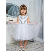 Блестящее платье для девочки