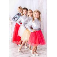 Фатиновая пышная юбка для девочки