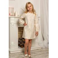 Нарядное платье на 134 рост для девочки