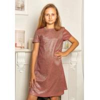 Модное  платье  на  122, 128, 134 рост для девочки