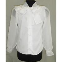 Блузка для девочки хлопковая