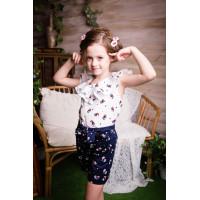 Шорты для девочки летние текстильные