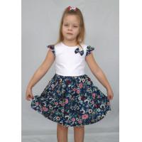 Текстильное платье для девочки