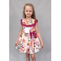 Платье для девочки из бязи недорогое