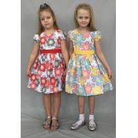 Платье для девочки из турецкого ранфоса