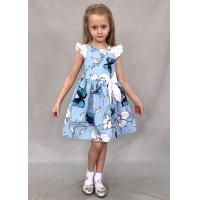 Летнее платье из бязи для девочки