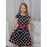 Нарядное платье в горшек  для девочки