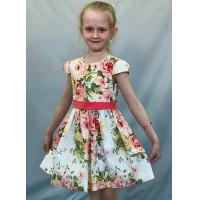 Летнее текстильное платья для девочки купить оптом