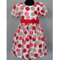 Летнее платье текстильное для девочки