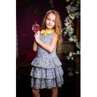 Летнее  платье для девочки в стиле прованс