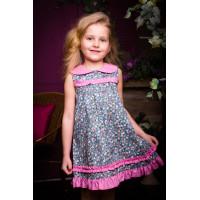 Детское платье для теплых летних дней.