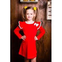Платье трикотажное для девочки  в детский сад