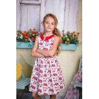 Платье хлопковое для девочки