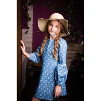 Джинсовое платье для маленькой моднцы
