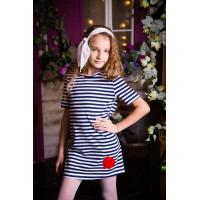 Платье подростковое трикотажное