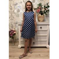 Синее платье для девочки подростка