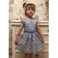 Хлопковое платье для девочки