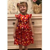Платье  к 8 марта для девочки