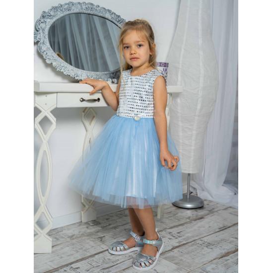 Блестящее платье для девочки - 1