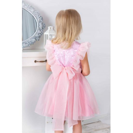 Очаровательное нарядное платье для девочки - 1