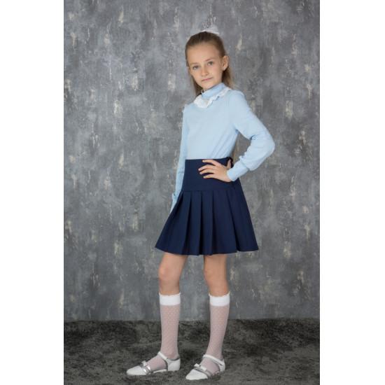 Джемпер для девочки  школьный - 1