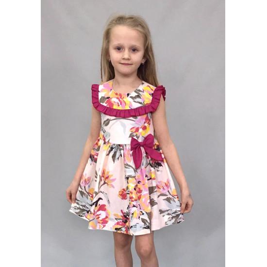 Платье для девочки из бязи недорогое - 1