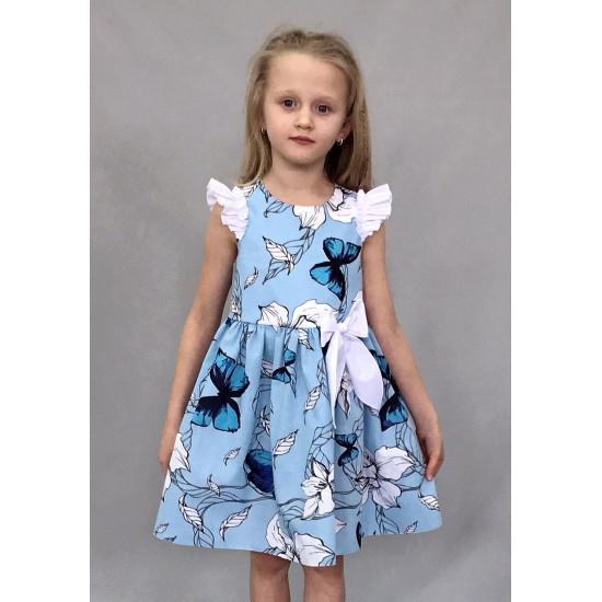 Летнее платье из бязи для девочки - 1