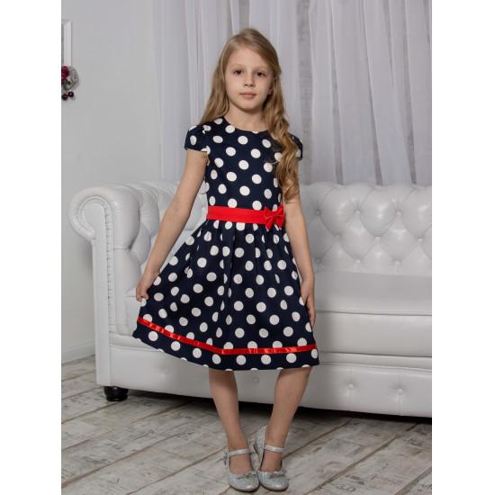 Нарядное платье в горшек  для девочки - 1