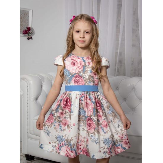 Хлопковое летнее платье купить - 1