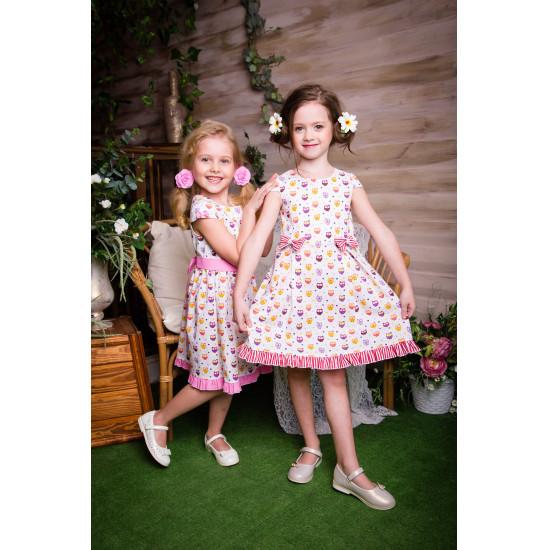 Летнее платье для  девочкималышки - 1