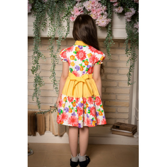 Летнее платье для девочки - 1