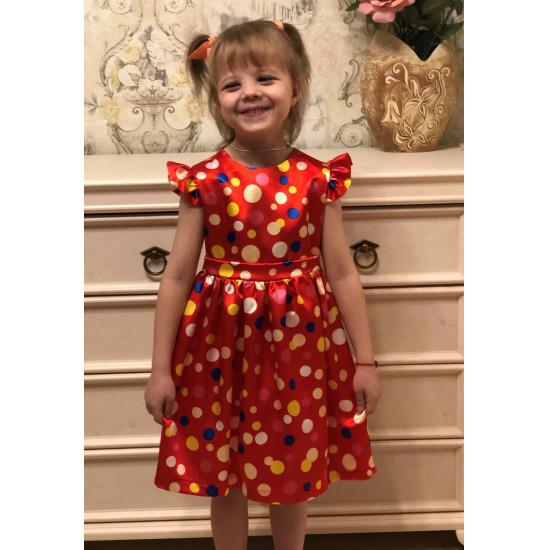 Платье  к 8 марта для девочки - 1